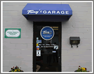 Tony's Auto Repair Garage Front Entrance